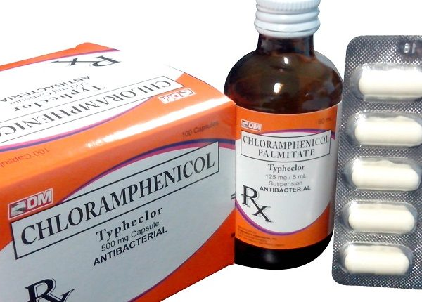 Kháng sinh cloramphenicol