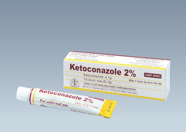 Thuốc bôi da Ketoconazol