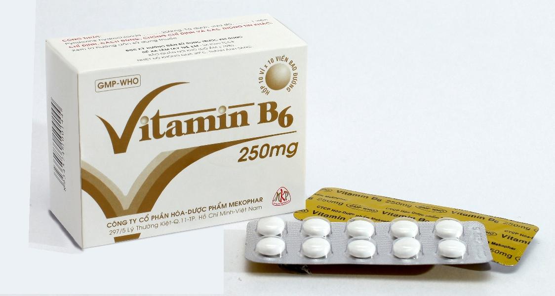 Thuốc bổ sung vitamin b6