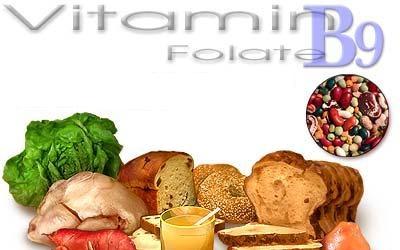 Thực phẩm bổ sung vitamin B9