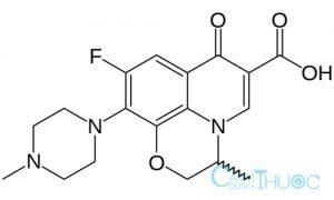 Công thức thuốc ofloxacin