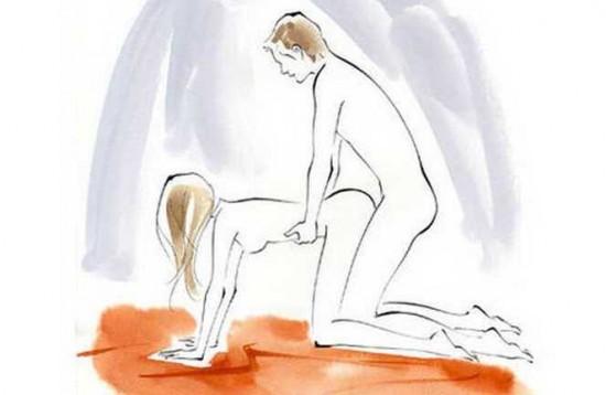 Các tư thế quan hệ tình dục vợ chồng chạm điểm G
